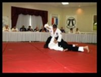 Yoshisune black belt Marvin Carmona tested for Sandan in the Yoshitsune combat Ju-Jitsu sysstem