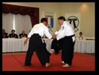 Yoshitsune black belts Ron Oringer and Todd Turner testing for Nidan in the Yoshitsune Traditional System (2)